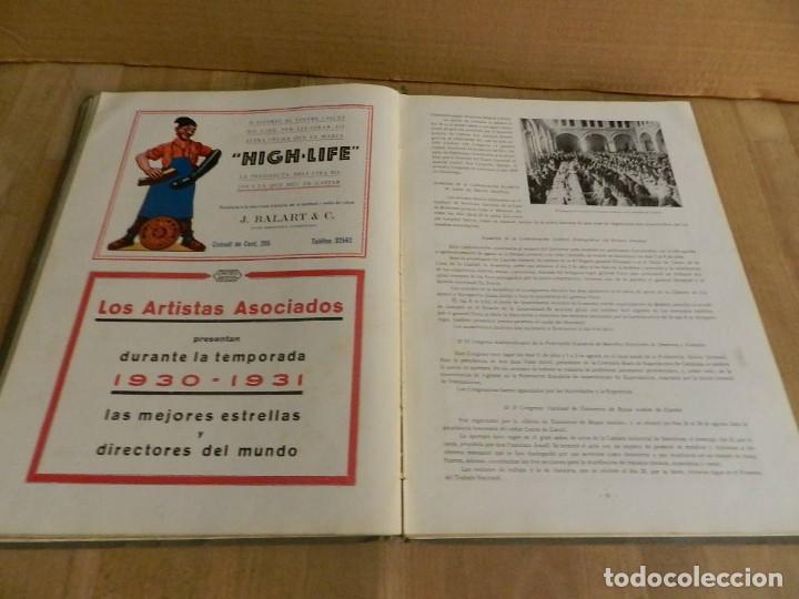Libros antiguos: BARCELONA 1929-1930 RECUERDO DE LA EXPOSICIÓN UNIVERSAL FOTOGRAFÍA ANTIGUA MUCHA PUBLICIDAD - Foto 6 - 227827705