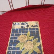 Libros antiguos: REVISTA DE MODA LABORES DEL HOGAR NÚMERO 89 AÑO 1934. Lote 233359235
