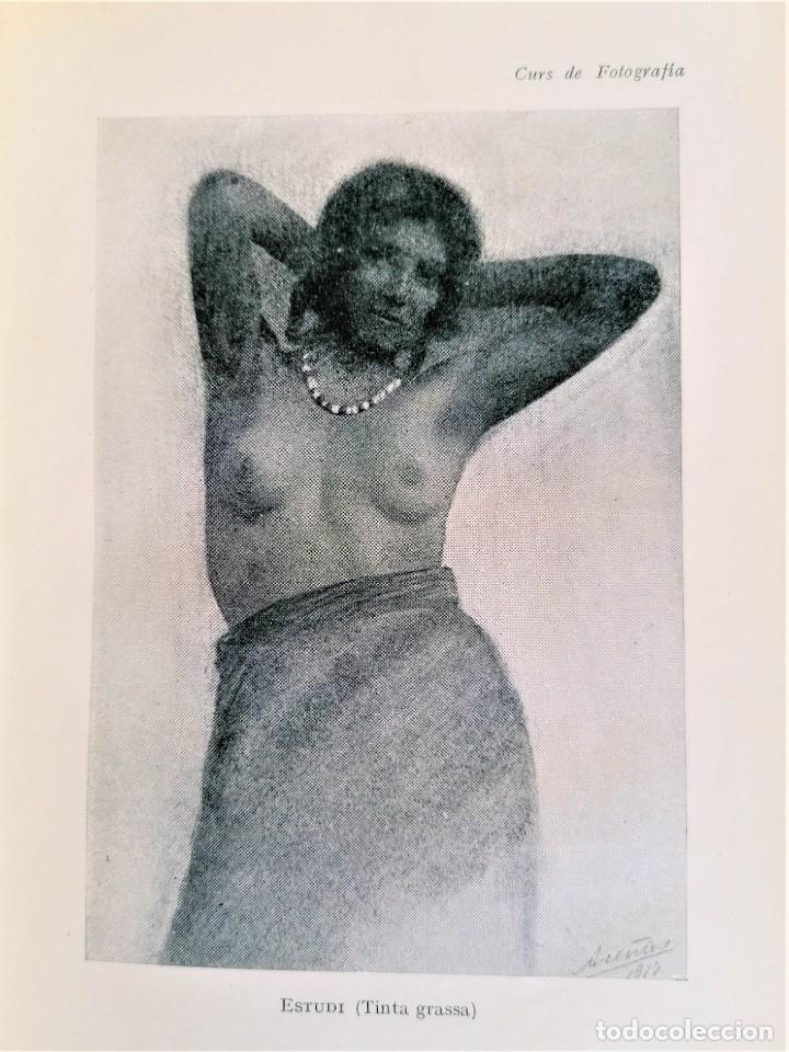 ANTIGUO LIBRO,CURSO DE FOTOGRAFIA,AÑO 1921,ENCUADERNACION EN PIEL DE COCODRILO,100 AÑOS.EN CATALAN (Libros Antiguos, Raros y Curiosos - Bellas artes, ocio y coleccion - Diseño y Fotografía)