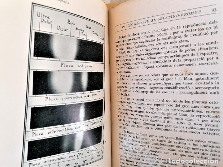 Libros antiguos: ANTIGUO LIBRO,CURSO DE FOTOGRAFIA,AÑO 1921,ENCUADERNACION EN PIEL DE COCODRILO,100 AÑOS.EN CATALAN - Foto 7 - 236317640