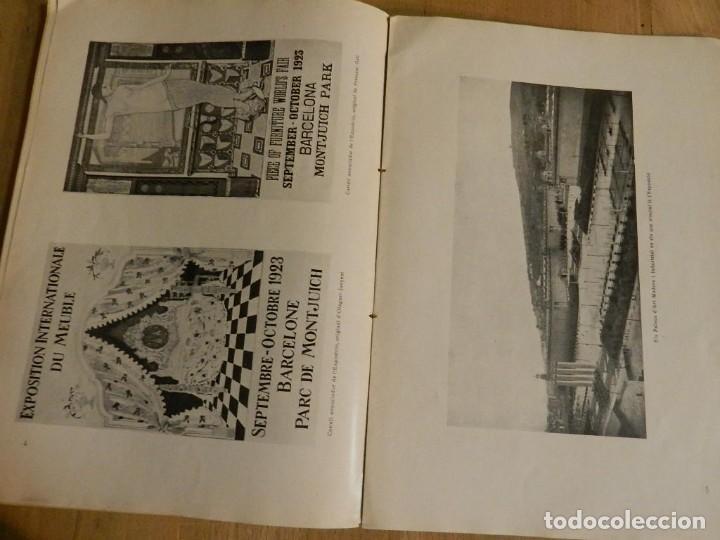 Libros antiguos: CATÁLOGO EXPOSICIÓ INTERNACIONAL DEL MOBLE I DECORACIÓ DINTERIORS DE BARCELONA 1923 EN CATALÀ - Foto 5 - 239358670