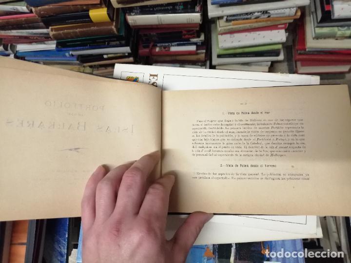 Libros antiguos: PORTFOLIO DE LAS ISLAS BALEARES ( MALLORCA , MENORCA , IBIZA ). TIPOGRAFÍA J. TOUS,EDITOR . 1900 . - Foto 3 - 241208895