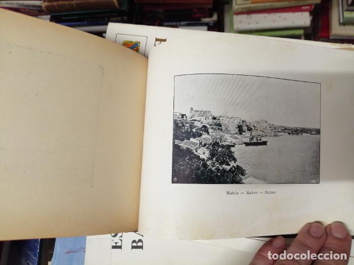 Libros antiguos: PORTFOLIO DE LAS ISLAS BALEARES ( MALLORCA , MENORCA , IBIZA ). TIPOGRAFÍA J. TOUS,EDITOR . 1900 . - Foto 24 - 241208895