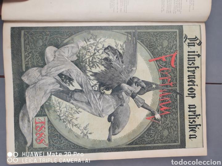 Libros antiguos: La Ilustración Artística. Año Vll. Barcelona 2 de enero de 1888. N°314 - Foto 2 - 243663295