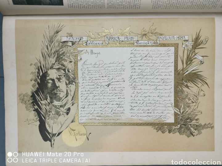 Libros antiguos: La Ilustración Artística. Año Vll. Barcelona 2 de enero de 1888. N°314 - Foto 3 - 243663295