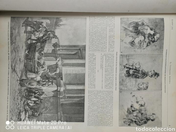 Libros antiguos: La Ilustración Artística. Año Vll. Barcelona 2 de enero de 1888. N°314 - Foto 4 - 243663295
