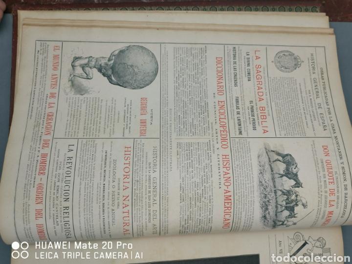 Libros antiguos: La Ilustración Artística. Año Vll. Barcelona 2 de enero de 1888. N°314 - Foto 5 - 243663295