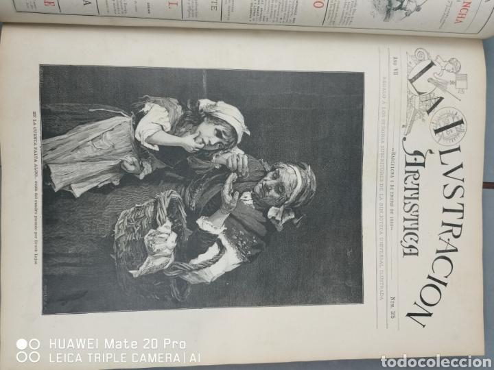 Libros antiguos: La Ilustración Artística. Año Vll. Barcelona 2 de enero de 1888. N°314 - Foto 6 - 243663295