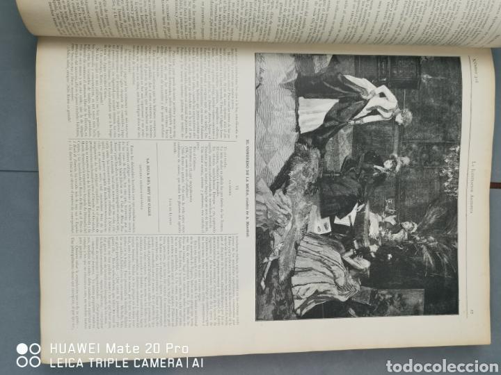 Libros antiguos: La Ilustración Artística. Año Vll. Barcelona 2 de enero de 1888. N°314 - Foto 7 - 243663295
