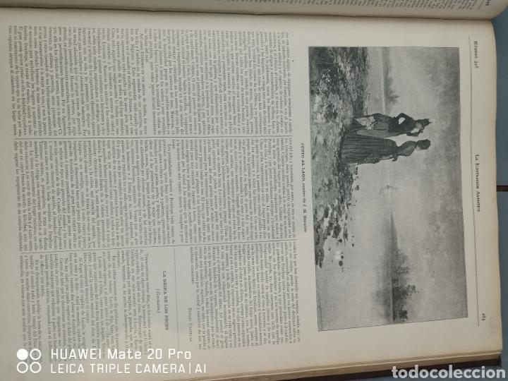 Libros antiguos: La Ilustración Artística. Año Vll. Barcelona 2 de enero de 1888. N°314 - Foto 13 - 243663295