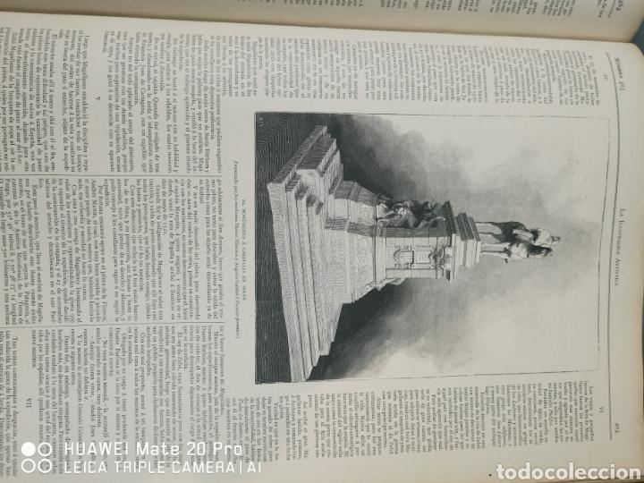 Libros antiguos: La Ilustración Artística. Año Vll. Barcelona 2 de enero de 1888. N°314 - Foto 17 - 243663295