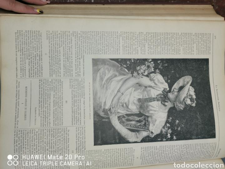 Libros antiguos: La Ilustración Artística. Año Vll. Barcelona 2 de enero de 1888. N°314 - Foto 18 - 243663295