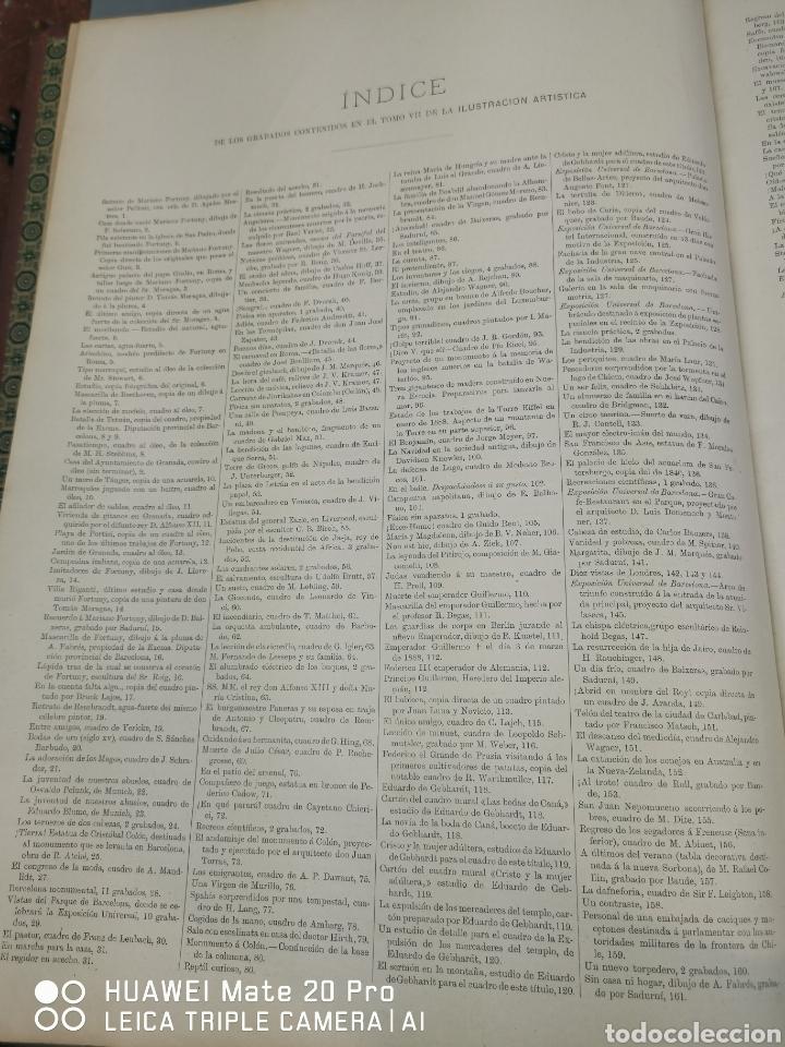 Libros antiguos: La Ilustración Artística. Año Vll. Barcelona 2 de enero de 1888. N°314 - Foto 22 - 243663295