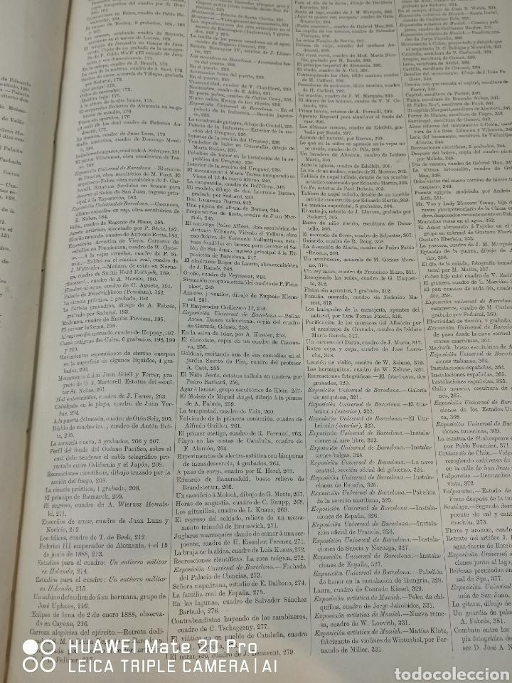 Libros antiguos: La Ilustración Artística. Año Vll. Barcelona 2 de enero de 1888. N°314 - Foto 23 - 243663295