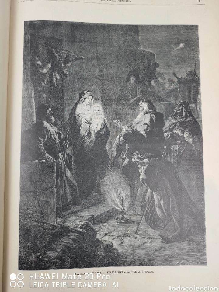 Libros antiguos: La Ilustración Artística. Año Vll. Barcelona 2 de enero de 1888. N°314 - Foto 24 - 243663295