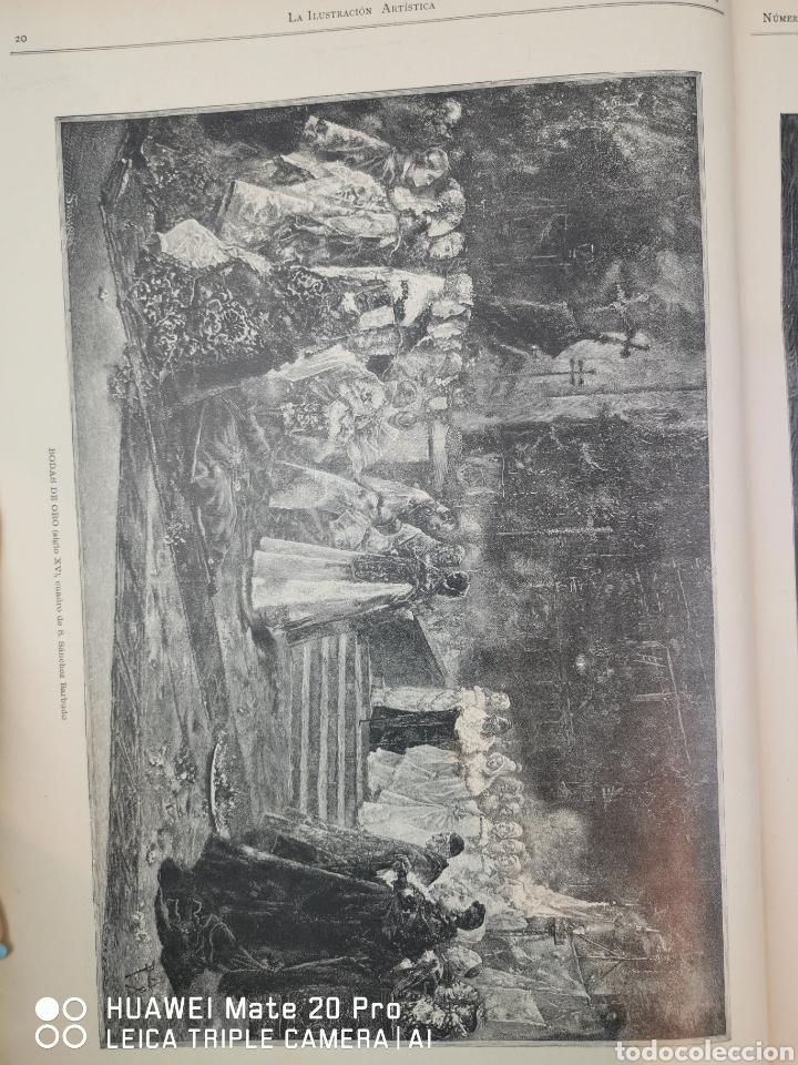 Libros antiguos: La Ilustración Artística. Año Vll. Barcelona 2 de enero de 1888. N°314 - Foto 25 - 243663295