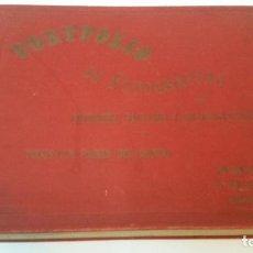 Libros antiguos: 1900 - PORTFOLIO DE FOTOGRAFÍAS DE CIUDADES, PAISAJES Y CUADROS DE TODOS LOS PAÍSES DEL MUNDO. Lote 248045895
