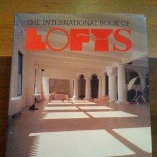 Libros antiguos: THE BOOK OF LOFTS SUZANNE SLESIN Y STAFFORD CLIFF , AÑO 1986. INCLUYE PLANOS.. Lote 253199440