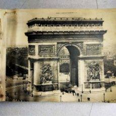 Libros antiguos: PORTAFOLIO DE FOTOS ANTIGUAS DE PARIS, 24 IMAGENES.. Lote 254392540