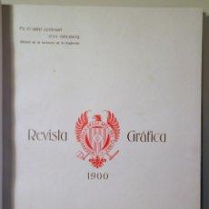 Libros antiguos: INSTITUT CATALÀ DE LES ARTS DEL LLIBRE. REVISTA GRÀFICA 1900. Á GUTENBERG - BARCELONA 1900 - IL·LUST. Lote 260855890