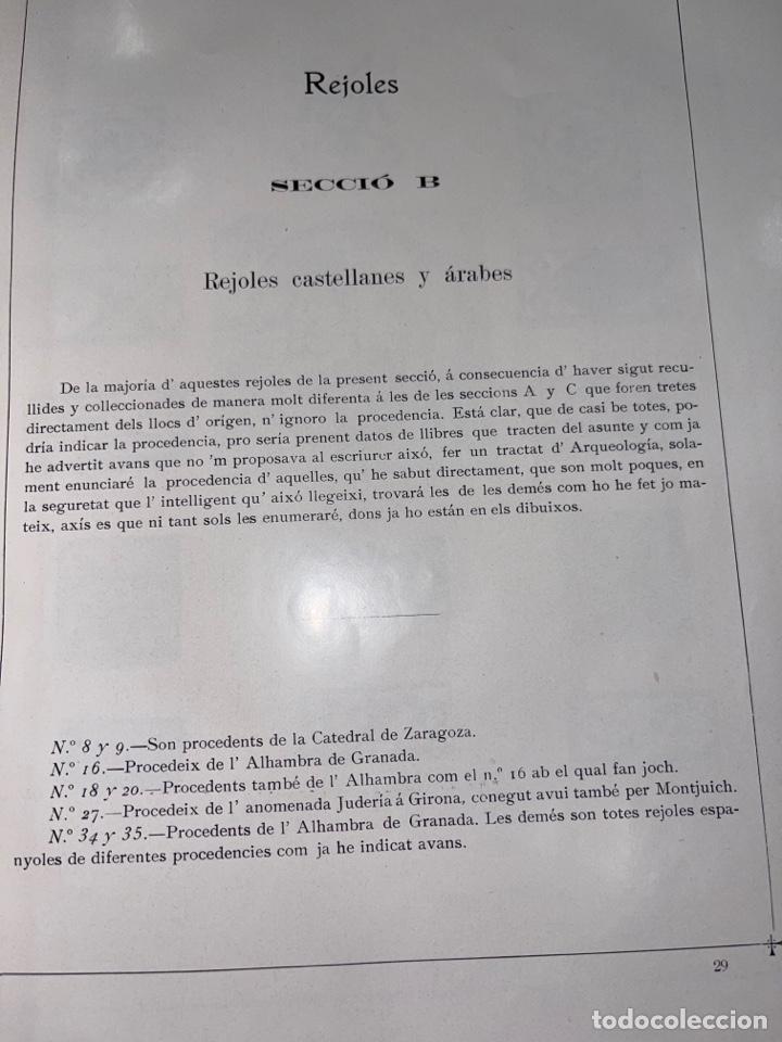 Libros antiguos: L- Museum Santacana de Martorell. Catálogo ilustrado. François Santacana Romeu. 1909 - Foto 12 - 261663355