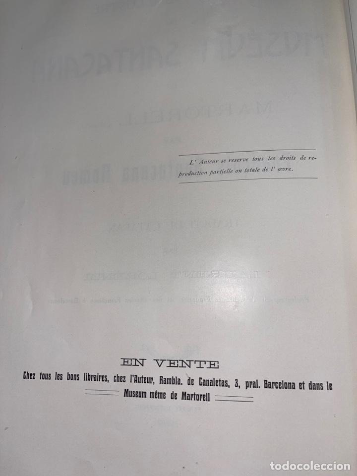 Libros antiguos: L- Museum Santacana de Martorell. Catálogo ilustrado. François Santacana Romeu. 1909 - Foto 26 - 261663355