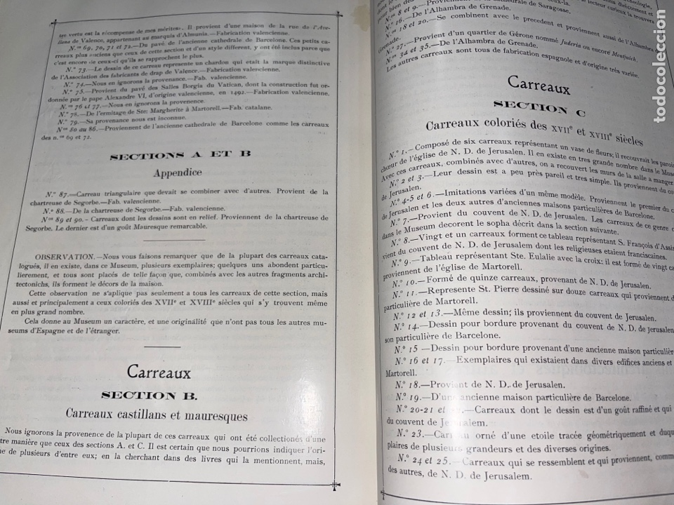 Libros antiguos: L- Museum Santacana de Martorell. Catálogo ilustrado. François Santacana Romeu. 1909 - Foto 27 - 261663355