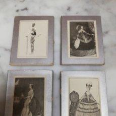 Libros antiguos: TRAJE HISTÓRICO FEMENINO COMPLETO. Lote 261669835