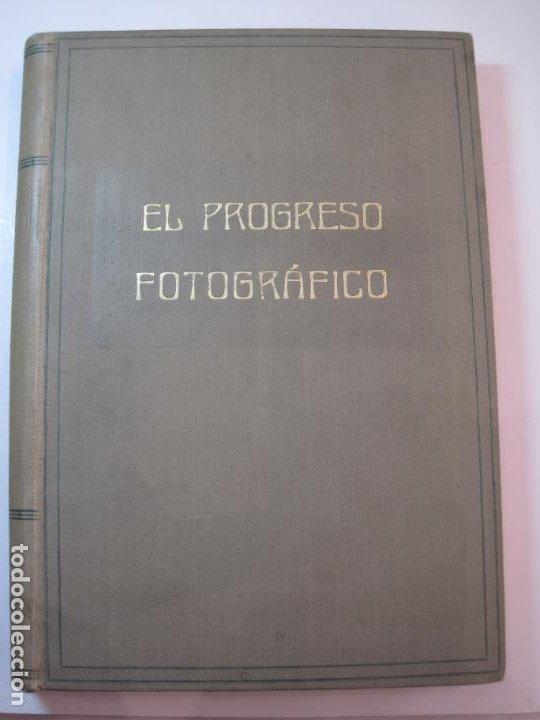 Libros antiguos: EL PROCESO FOTOGRAFICO-AÑO 1924-REVISTA ILUSTRADA-VER FOTOS-(V-22.751) - Foto 2 - 261849130
