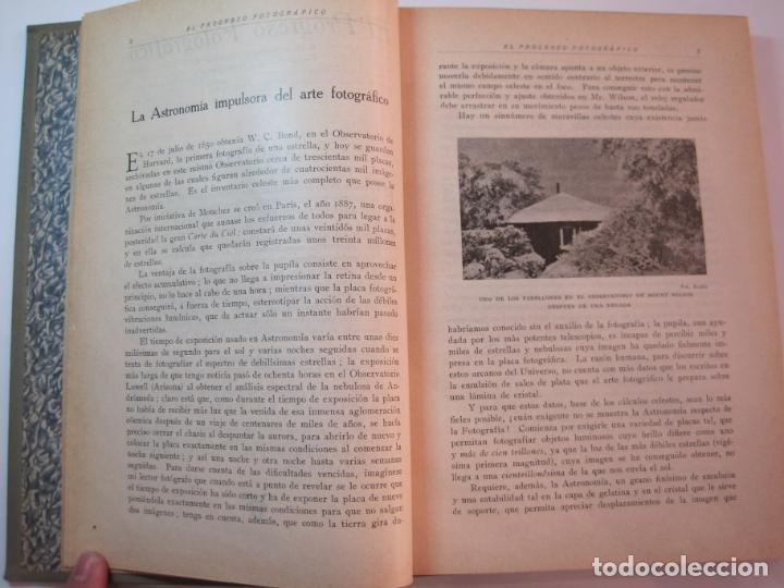Libros antiguos: EL PROCESO FOTOGRAFICO-AÑO 1924-REVISTA ILUSTRADA-VER FOTOS-(V-22.751) - Foto 11 - 261849130