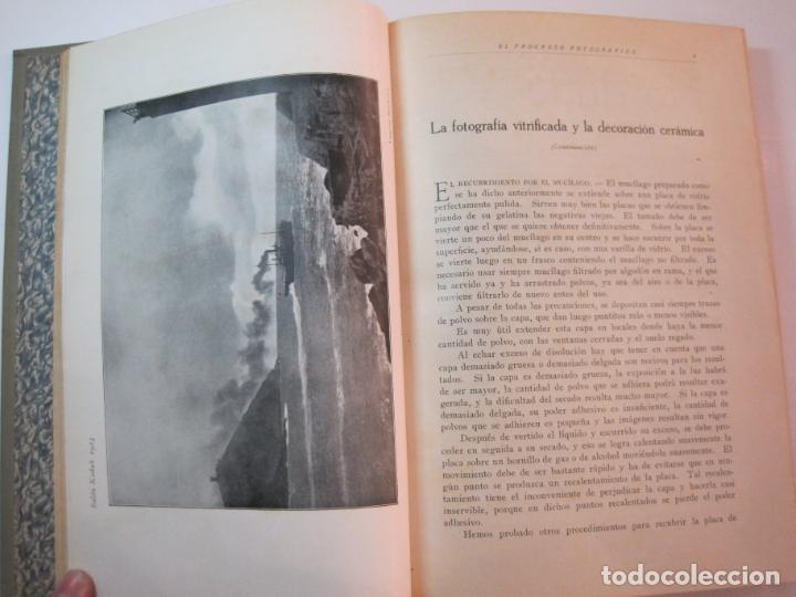 Libros antiguos: EL PROCESO FOTOGRAFICO-AÑO 1924-REVISTA ILUSTRADA-VER FOTOS-(V-22.751) - Foto 14 - 261849130
