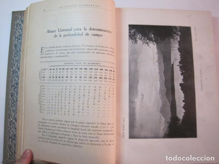 Libros antiguos: EL PROCESO FOTOGRAFICO-AÑO 1924-REVISTA ILUSTRADA-VER FOTOS-(V-22.751) - Foto 15 - 261849130