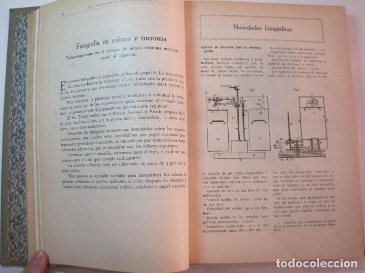 Libros antiguos: EL PROCESO FOTOGRAFICO-AÑO 1924-REVISTA ILUSTRADA-VER FOTOS-(V-22.751) - Foto 18 - 261849130