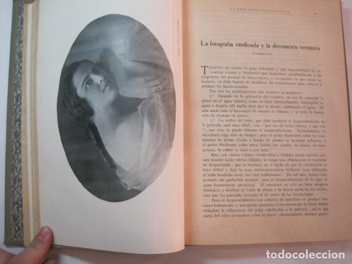 Libros antiguos: EL PROCESO FOTOGRAFICO-AÑO 1924-REVISTA ILUSTRADA-VER FOTOS-(V-22.751) - Foto 23 - 261849130