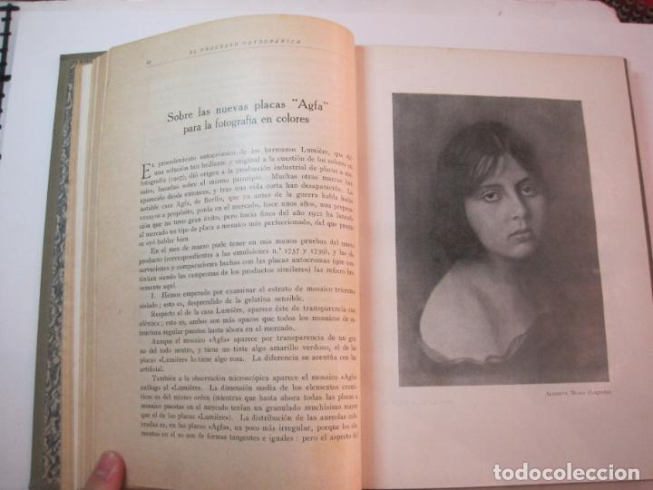 Libros antiguos: EL PROCESO FOTOGRAFICO-AÑO 1924-REVISTA ILUSTRADA-VER FOTOS-(V-22.751) - Foto 24 - 261849130