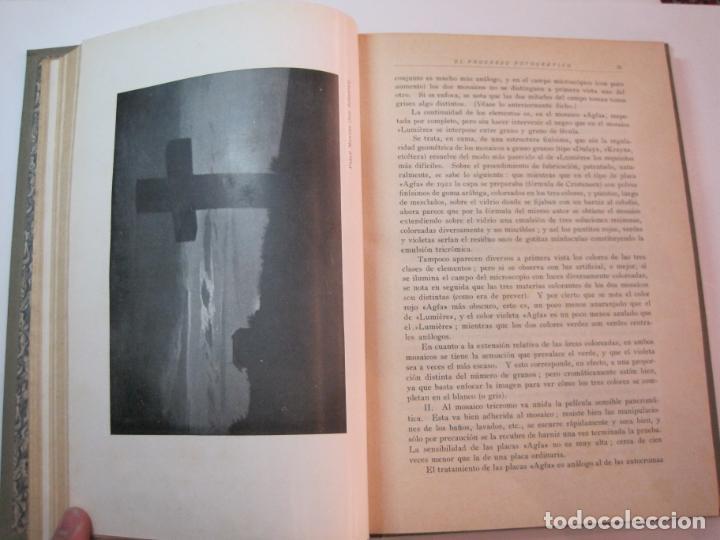 Libros antiguos: EL PROCESO FOTOGRAFICO-AÑO 1924-REVISTA ILUSTRADA-VER FOTOS-(V-22.751) - Foto 26 - 261849130