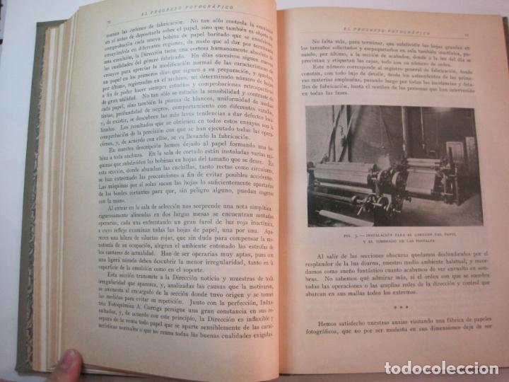 Libros antiguos: EL PROCESO FOTOGRAFICO-AÑO 1924-REVISTA ILUSTRADA-VER FOTOS-(V-22.751) - Foto 29 - 261849130