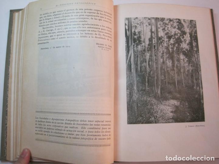 Libros antiguos: EL PROCESO FOTOGRAFICO-AÑO 1924-REVISTA ILUSTRADA-VER FOTOS-(V-22.751) - Foto 30 - 261849130