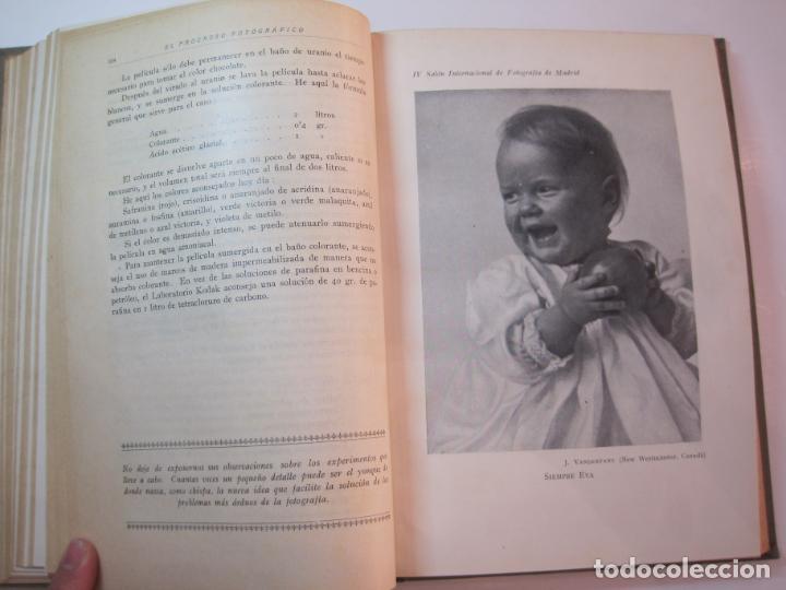Libros antiguos: EL PROCESO FOTOGRAFICO-AÑO 1924-REVISTA ILUSTRADA-VER FOTOS-(V-22.751) - Foto 38 - 261849130