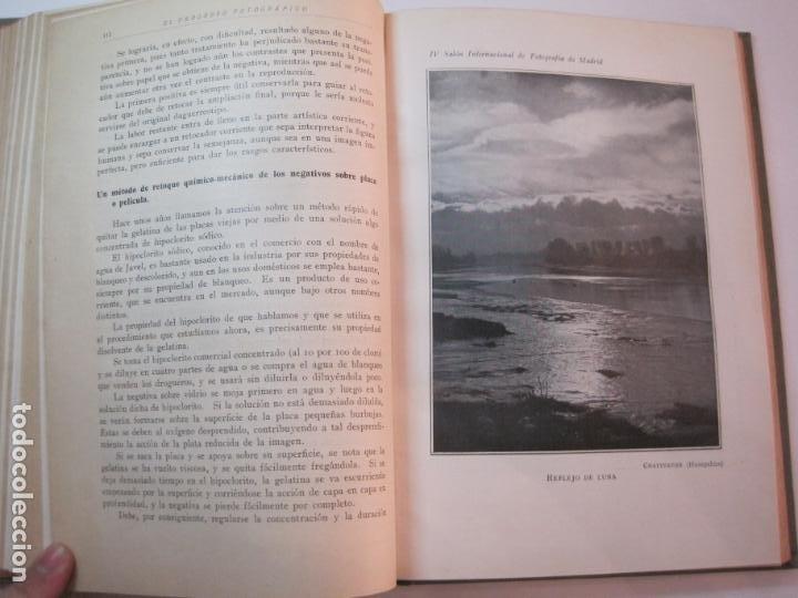 Libros antiguos: EL PROCESO FOTOGRAFICO-AÑO 1924-REVISTA ILUSTRADA-VER FOTOS-(V-22.751) - Foto 41 - 261849130