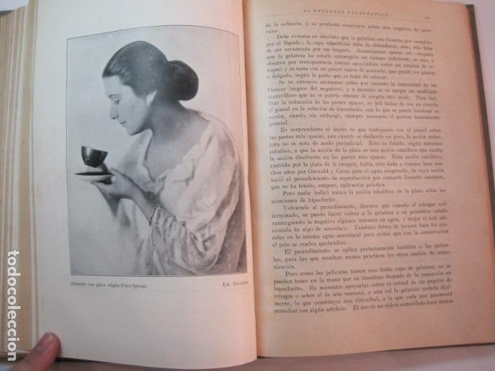 Libros antiguos: EL PROCESO FOTOGRAFICO-AÑO 1924-REVISTA ILUSTRADA-VER FOTOS-(V-22.751) - Foto 43 - 261849130