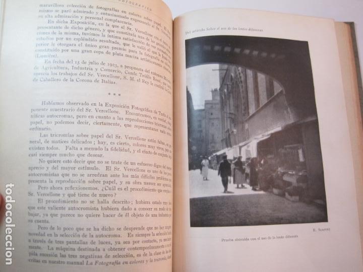 Libros antiguos: EL PROCESO FOTOGRAFICO-AÑO 1924-REVISTA ILUSTRADA-VER FOTOS-(V-22.751) - Foto 45 - 261849130