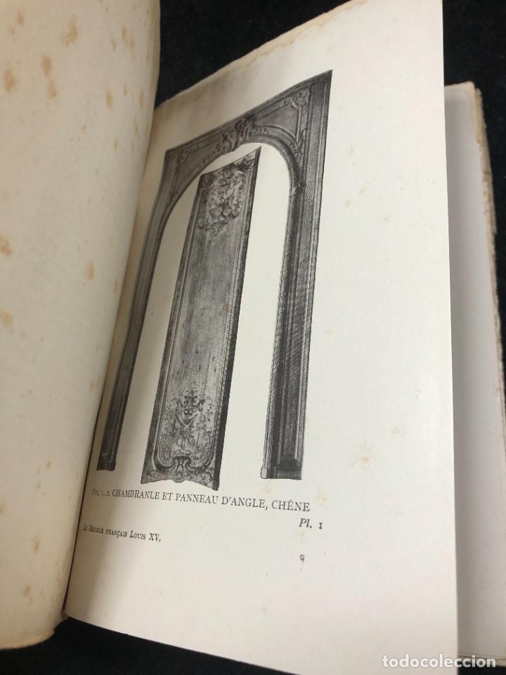 Libros antiguos: Le meuble français sous Louis XV Roger de FELICE. HACHETTE, 1926 ilustrado. En francés. - Foto 4 - 264313736