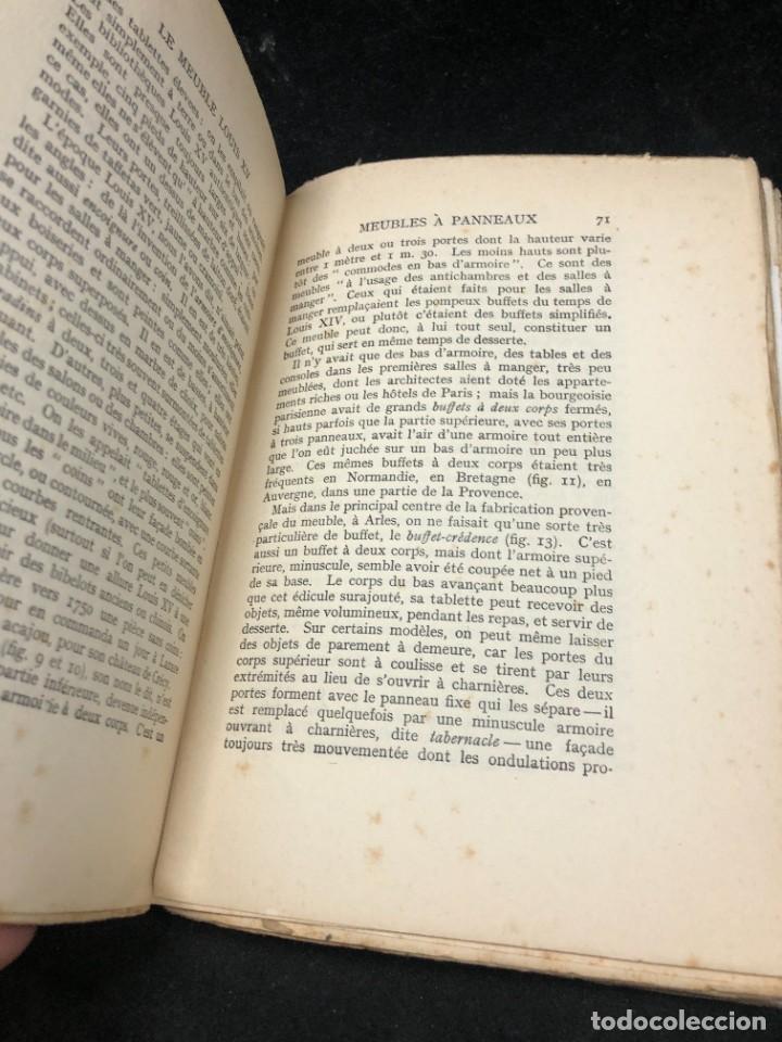 Libros antiguos: Le meuble français sous Louis XV Roger de FELICE. HACHETTE, 1926 ilustrado. En francés. - Foto 5 - 264313736