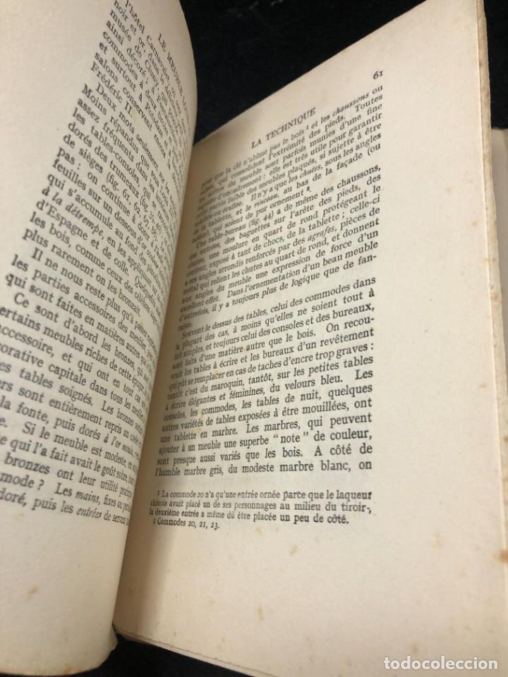 Libros antiguos: Le meuble français sous Louis XV Roger de FELICE. HACHETTE, 1926 ilustrado. En francés. - Foto 7 - 264313736
