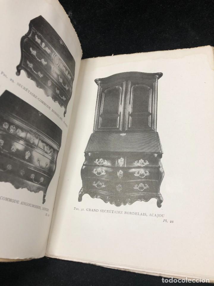 Libros antiguos: Le meuble français sous Louis XV Roger de FELICE. HACHETTE, 1926 ilustrado. En francés. - Foto 10 - 264313736