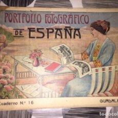 Libros antiguos: PORTFOLIO FOTOGRÁFICO DE ESPAÑA. GUADALAJARA. Lote 268997929