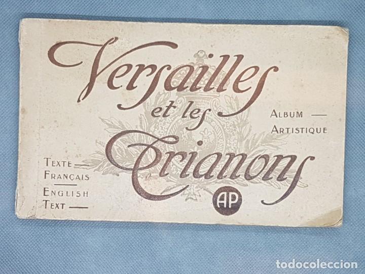 VERSAILLES ET LES TRIANNONS ALBUM ARTISTIC 24 FOTOGRAFÍAS PARIS MUY ANTIGUO (Libros Antiguos, Raros y Curiosos - Bellas artes, ocio y coleccion - Diseño y Fotografía)