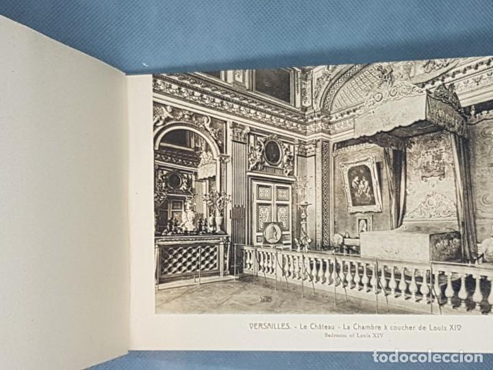 Libros antiguos: VERSAILLES ET LES TRIANNONS Album artistic 24 fotografías Paris muy antiguo - Foto 2 - 272389908