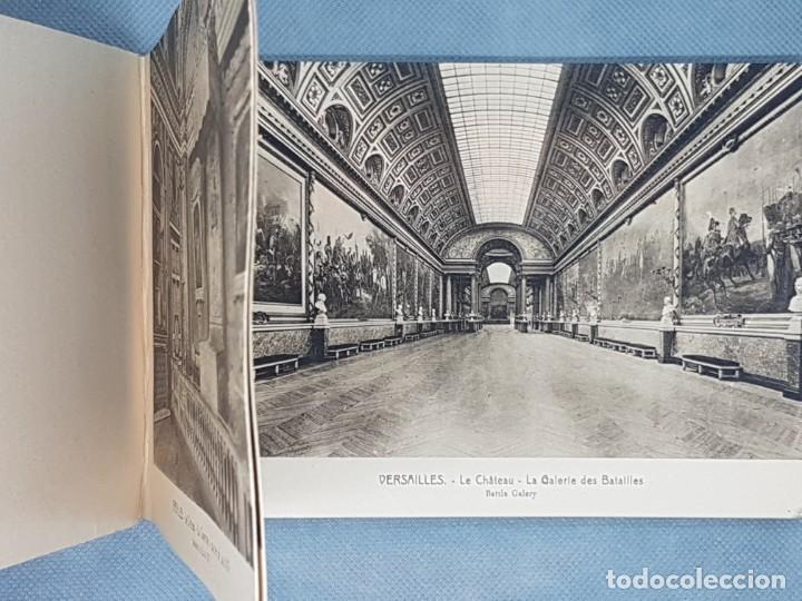 Libros antiguos: VERSAILLES ET LES TRIANNONS Album artistic 24 fotografías Paris muy antiguo - Foto 3 - 272389908